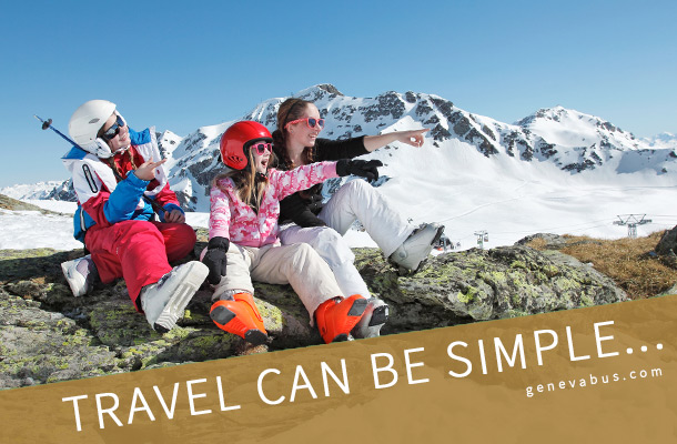Travel can be simple - Geneva airport transfer to ski resorts